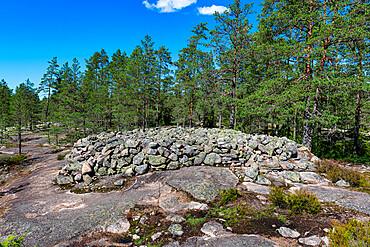 Sammallahdenmaeki, Bronze Age burial site, UNESCO World Heritage Site, Finland, Europe