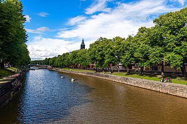 Aura Canal, Turku, Finland, Europe