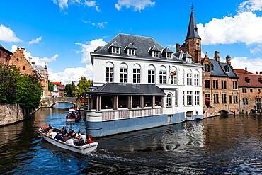 Bruges, UNESCO World Heritage Site, Belgium, Europe