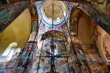 Beautiful walll paintings, Sopocani Monastery, UNESCO World Heritage Site, Novi Pazar, Serbia, Europe