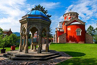 Zica Orthodox Monastery, Zica, Serbia, Europe