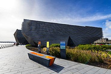 V&A Dundee, Scotland's design museum, Dundee, Scotland, United Kingdom, Europe