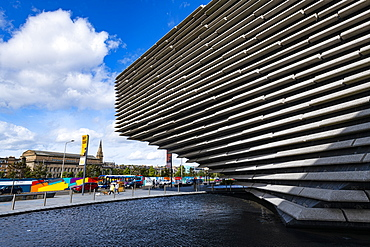 V&A Dundee, Scotland's design museum, Dundee, Scotland, United Kingdom, Europe