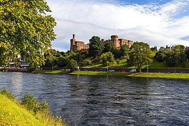 Inverness Castle, Inverness, Highlands, Scotland, United Kingdom, Europe