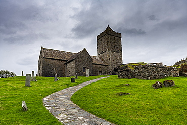 St. Clements Church, Rodel, Isle of Harris, Outer Hebrides, Scotland, United Kingdom, Europe