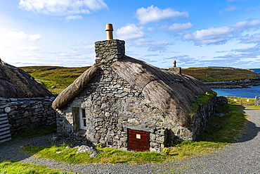 Gearrannan Blackhouse Village, Isle of Lewis, Outer Hebrides, Scotland, United Kingdom, Europe