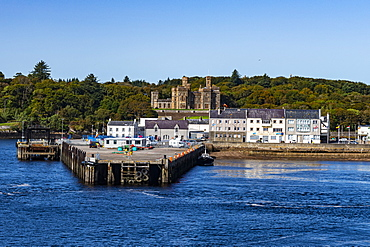 Harbour of Stornoway, Isle of Lewis, Outer Hebrides, Scotland, United Kingdom, Europe