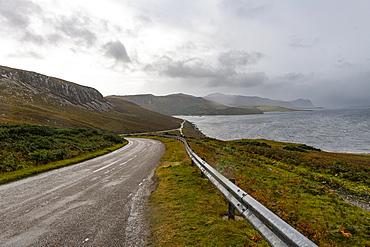 N500 (NC500) (North Coast 500) road in nothern Scotland, United Kingdom, Europe