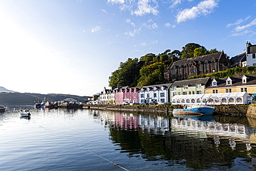 Harbour of Portree, Isle of Skye, Inner Hebrides, Scotland, United Kingdom, Europe