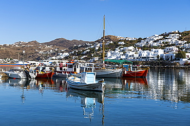 Horta, Mykonos, Cyclades, Greek Islands, Greece, Europe