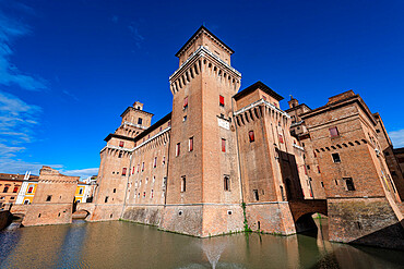 Este castle, Unesco world heritage site Ferrara, Italy