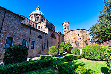 Cathedral of the Resurrection of Jesus Christ, Unesco world heritage site Ravenna, Italy