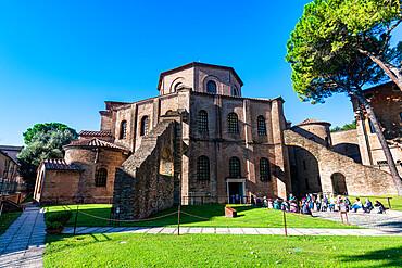 Basilica di San Vitale, Unesco world heritage site Ravenna, Italy