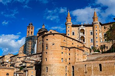 Palazzo Ducale di Urbino, Unesco world heritage site Urbino, Italy