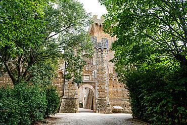 Castello di Spedaletto, Unesco world heritage site Val d´Orcia, Italy