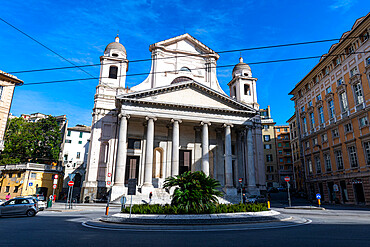 Basilica della Santissima Annunziata del Vastato, Unesco world heritage site Genoa, Italy