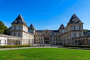 Castello del Valentino, Unesco world heritage site Turin, Italy