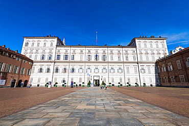 Royal Palace of Turin, Unesco world heritage site Turin, Italy