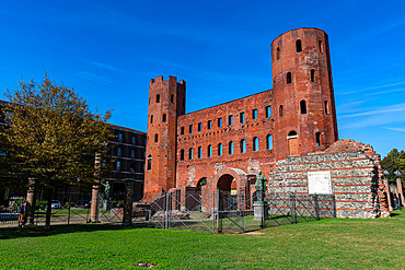 Palatine Towers, Unesco world heritage site Turin, Italy