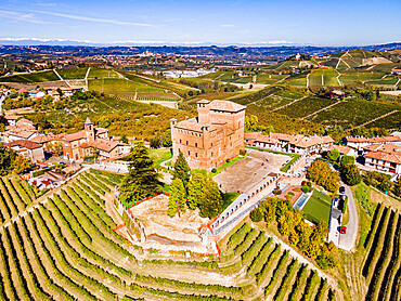 Castle of Grinzane Cavour, Unesco world heritage site Piedmont, Italy