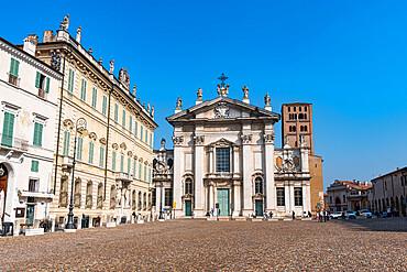 Mantua cathedral, Unesco world heritage site Mantua, Italy