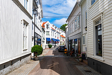 Historic Ibsen town Grimstad, Norway