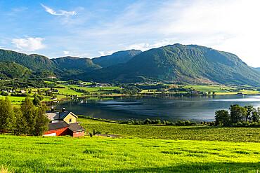 Mountain scene near Molde, Norway