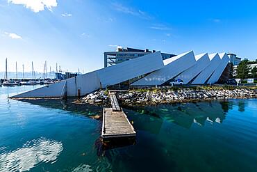 Polaria, arctis aquarium, Tromso, Norway