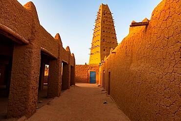 Grand Mosque of Agadez, UNESCO World Heritage Site, Agadez, Niger, Africa