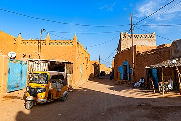 Historic center of Agadez, UNESCO World Heritage Site, Niger, Africa
