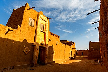 Historic center in Agadez, UNESCO World Heritage Site, Niger, Africa