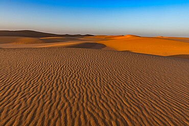 Ripples in the desert sand, Sahara, Niger, Africa