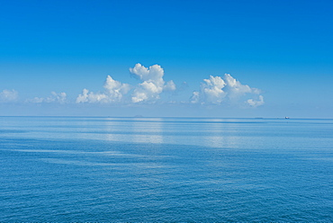 Very flat ocean, Mamanuca Islands, Fiji, South Pacific