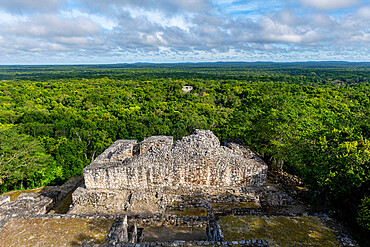 Unesco world heritage site Calakmul, Campeche, Mexico