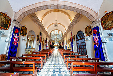 Our Lady of the Immaculate Conception Cathedral, the historic fortified town of Campeche, UNESCO World Heritage Site, Campeche, Mexico, North America