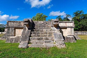 Pre-Columbian city, Chichen Itza, UNESCO World Heritage Site, Yucatan, Mexico, North America