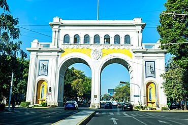 Entry gate to Guadalajara, Guadalajara, Jalisco, Mexico, North America