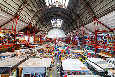 Mercado Hidalgo, UNESCO World Heritage Site, Guanajuato, Mexico, North America