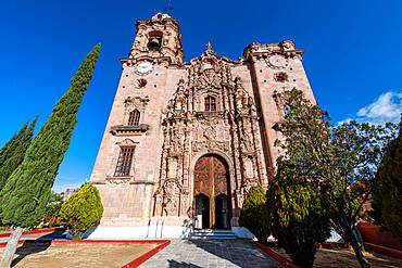 Templo De La Valenciana, UNESCO World Heritage Site, Guanajuato, Mexico, North America