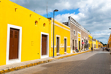 Izamal, the yellow city, Yucatan, Mexico, North America