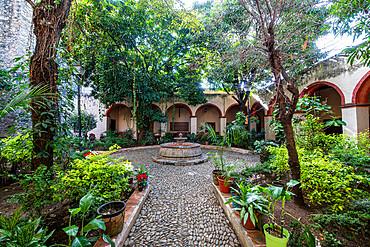 Santiago de Jalpan, UNESCO World Heritage Site, Franciscan Missions in the Sierra Gorda of Queretaro, Mexico, North America