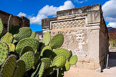 Mitla archaeological site from the Zapotec culture, San Pablo Villa de Mitla, Oaxaca, Mexico, North America