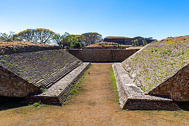 Monte Alban, UNESCO World Heritage Site, Oaxaca, Mexico, North America