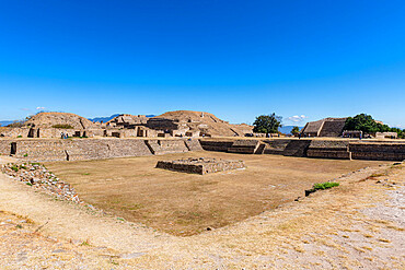 Unesco world heritage site Monte Alban, Oaxaca, Mexico