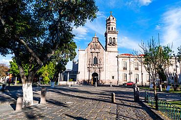 Santuario de Nuestra Senora de Guadalupe, UNESCO World Heritage Site, Morelia, Michoacan, Mexico, North America