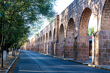 Aqueduct in Morelia, UNESCO World Heritage Site, Michoacan, Mexico, North America