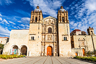 Church of Santo Domingo de Guzman, Oaxaca, Mexico, North America