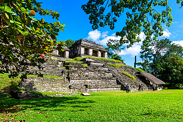 The Maya ruins of Palenque, UNESCO World Heritage Site, Chiapas, Mexico, North America