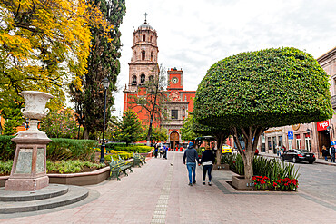 Templo de San Francisco, UNESCO World Heritage Site, Queretaro, Mexico, North America