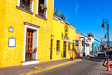 Historic buildings, UNESCO World Heritage Site, Tequila, Jalisco, Mexico,  North America
